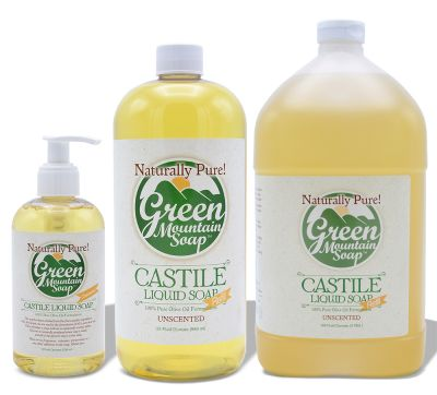 Castile Liquid Soap 100% Olive Oil